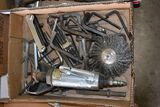 ATD Air Cut Off Tool & Assortment Of Allen Wrenches