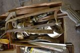 Assortment Of Pipe Wrenches, Pry Bars & Receiver Balls
