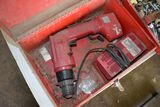 Milwakee Electric Drill with Charger & Hardware