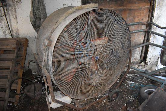 """46"""" Free Standing Fan, 110 Volt"""