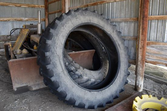 Set Of 480/80R50 Tires, Used