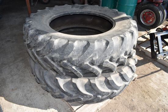 Set of 420/85R34 Tires 45%, Used