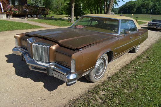 1978 Chrysler New Yorker 4 Door Car, 34,527 Miles Showing, Brown In Color, VIN: CS43N8C125028