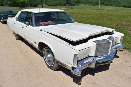 1977 Chrysler New Yorker 4 Door Car, 65,519 Miles, Original Miles, White In Color, VIN: CS43T7C19513