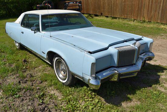 1977 Chrysler New Yorker 2 Door Car, 26,109 Miles, Original Miles, Baby Blue In Color, VIN: CS23T7C1