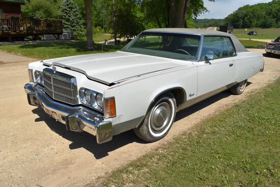 1978 Chrysler Newport 2 Door Car, One Owner, 59,222 Original Miles, 400ci Engine, Auto Transmission,
