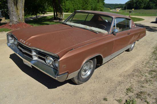 1967 Dodge Monaco 2 Door Car, 57,364 Miles Showing, Brown In Color, VIN: DP23H7410361