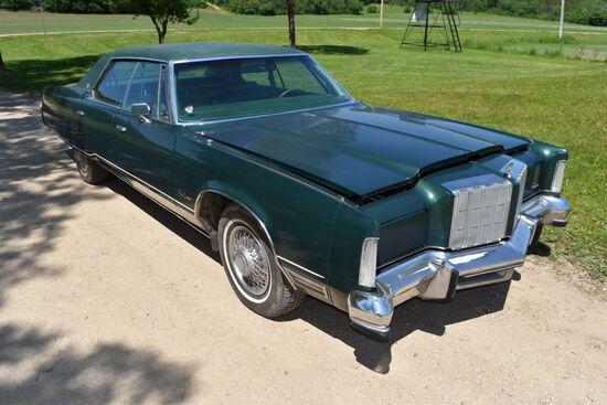1978 Chrysler New Yorker 4 Door Car, 67,616 Miles Showing, Green In Color, VIN: CS43N8C140599