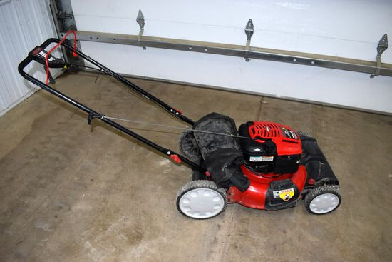 Troy Built Model TB230 21'' True Variable Speed Self Propelled Mower, Briggs 190cc Gas Motor