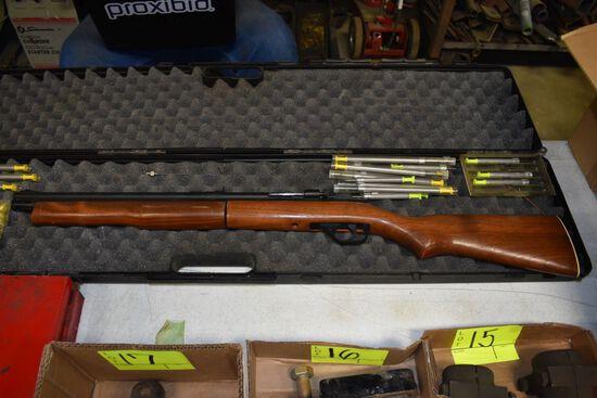 MFGD For PNEU-Dart Model 178B Tranquilizer Gun, Bolt Action Single Shot, With Hard Case And Dart