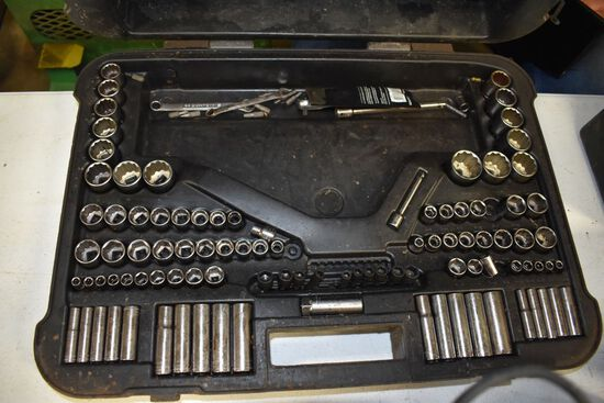 Craftsman 150 Piece Mechanic Tools Set, Missing A Few Sockets