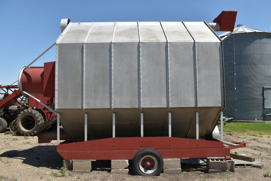 Super B Model A5-12 Grain Dryer Single Phase, LP Gas, 235 Bushel Batch Dryer On Transports, 15,473 H