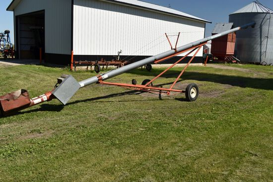"Hutchinson 8""x51' Auger, 7.5hp"