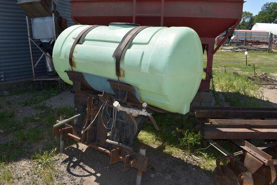 3pt 200 Gallon Poly Tank
