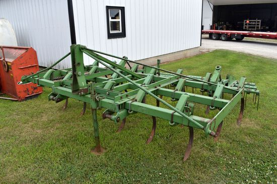 John Deere 10' 3pt Field Cultivator, 3 Bar Harrow