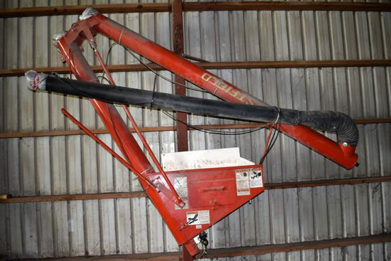 """Westfield 16'x4"""" Poly Auger For Truck Box, Hyd Drive"""