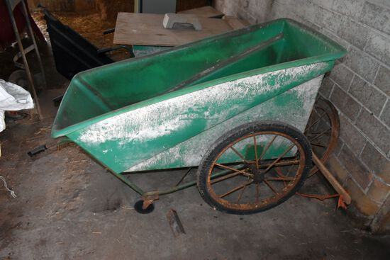 Poly Feed Cart