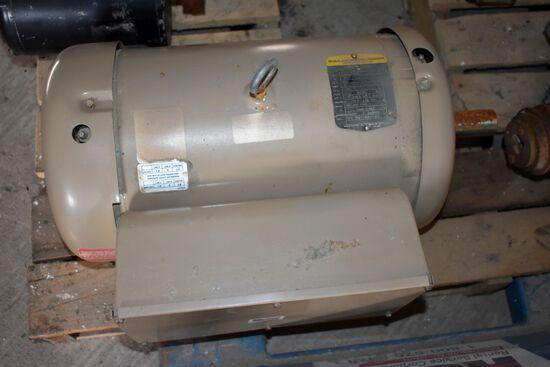Baldor 10HP Single Phase Electric Motor