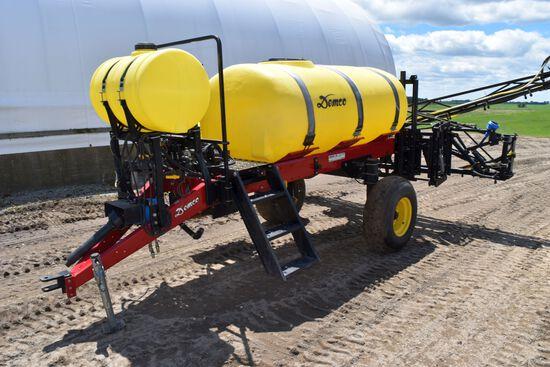 Demco HP-500 Crop Sprayer, 500 Gallon, 60' Booms, Foamer, Hydraulic Adjustable Height Booms, 1000PTO