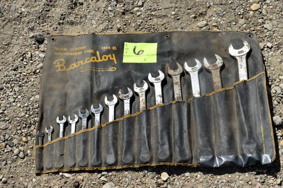 Barclay 14 Piece Combination Wrench Set 3/8 to 1 1/4