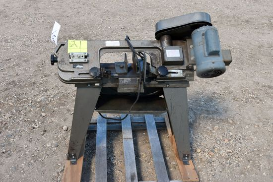 "Dura Craft 110 Volt 1/2 hp Motor Single Phase 12"" Metal Band Saw"