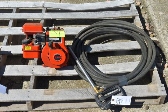 3 Hp Briggs Pump With Sprayer Wand and Hose Works