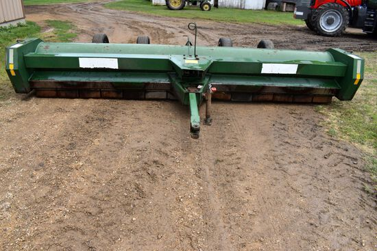 "Balzer 1400 Stalk Chopper, 6 Row 30"", 4 Transport Wheels, 1000PTO, SN: 3605D"