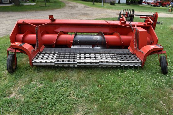Massey Ferguson Dummy Head With 5 Belt Pickup, Clean
