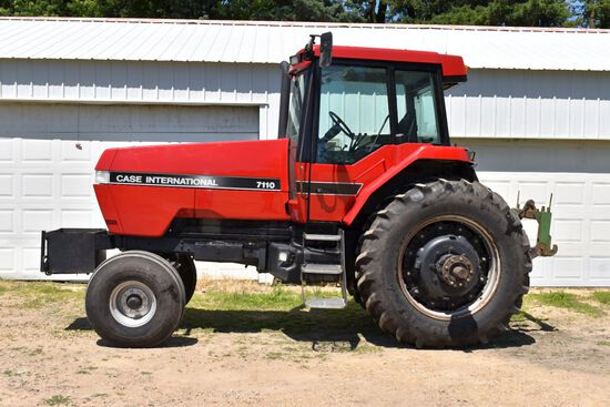 1990 Case IH 7110 2WD, 7460 Hrs (Eng Overhaul W/ Paperwork 1,000 Hrs Ago) 18 Speed Power Shift, 4Sp