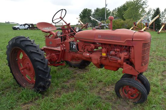 Farmall Super C, Narrow Front, 11.2x36 Tires, PTO, SN: 10119, Rear End Locked Up