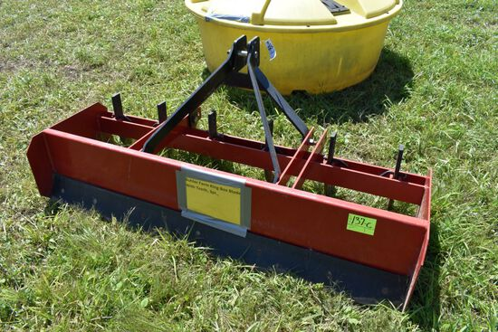 Buhler Farm King Box Blade With Teeth, 3pt.,