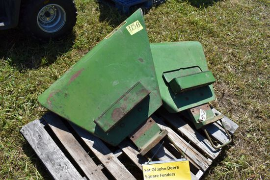 Set Of John Deere Square Fenders