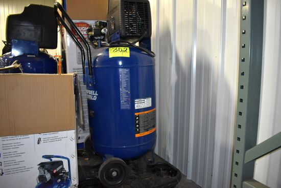 Campbell Hausfeld 20 Gallon 150 PSI Electric Air Compressor, 1.3 hp, 120 Volt