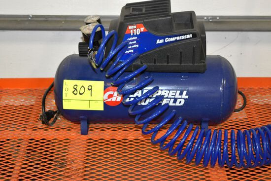 Campbell Hausfeld 110 PSI, 2 Gallon Air Compressor