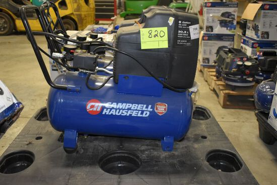 Campbell Hausfeld 8 Gallon, 110 PSI Air Compressor