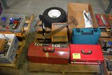 Wide Trailer Tire, Misc Tool Boxes