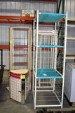 4 Store Display Shelves