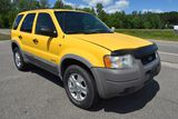 2002 Ford Escape XLT V6, AWD, 4 Door, Sunroof, 145,969 Miles, Yellow