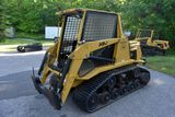 ASV Posi-Track MD70 Diesel Skid Loader, Aux Hyd., Cab, Heat, High & Low Flow, 549 Hours, 70hp, SNL P