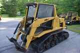 ASV Posi-Track MD70 Diesel Skid Loader, Aux Hyd., Cab, Heat, High & Low Flow, 601 Hours, 70hp, SN: P