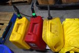 Pallet of 3- 5 Gallon Fuel Cans