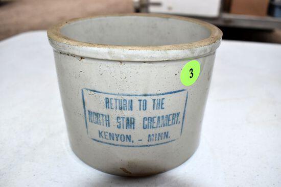 North Star Creamery Kenyon Mn Butter tub
