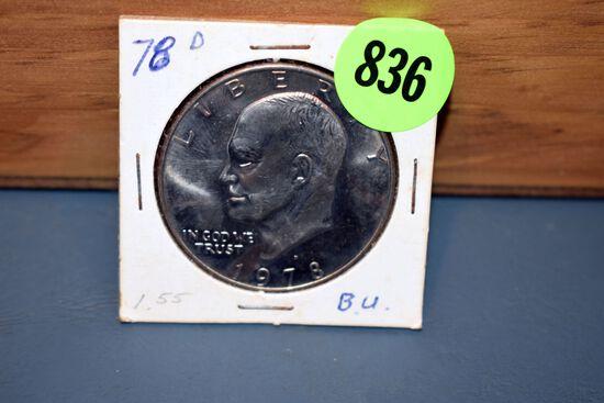 1978D Eisenhower Dollar
