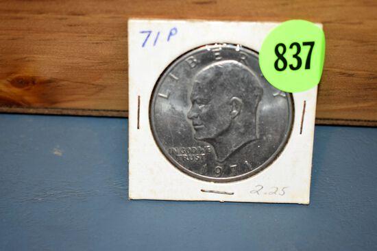 1971P Eisenhower Dollar