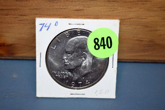 1974D Eisenhower Dollar