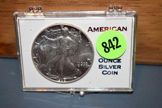 1988 American Eagle 1 Ounce Silver Coin