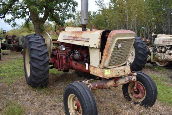 Cockshutt 570 row crop, half round fenders, diesel, non running