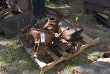 Model T transmission, head, and oil pan