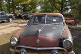 1951 Ford Custom 2 door, black, dented roof, no title, V8