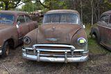1951 Chevy Deluxe 4 door, deluxe, no title
